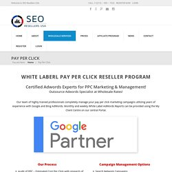 White Label Pay Per Click Reseller Program