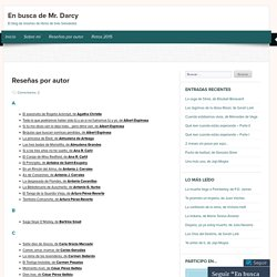 En busca de Mr. Darcy
