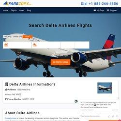 Delta Airlines - Delta Airline Reservation - Delta Flights - FareCopy.com