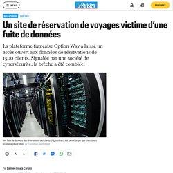 Un site de réservation de voyages victime d'une fuite de données