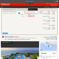 Hilton Cartagena - Hotels.com - Deals & Discounts for Hotel Reservations from Luxury Hotels to Budget Accommodations