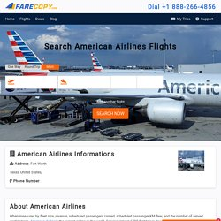 American Airlines - American Airlines Reservations - FareCopy.com
