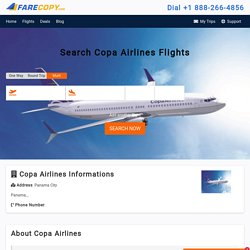 Copa Airlines - Copa Airlines Reservations - FareCopy.com