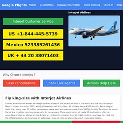 Get the important Interjet Airlines Reservations information through Interjet Airlines Phone Number