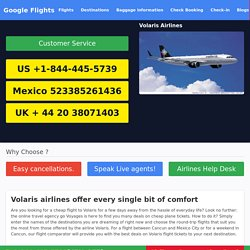 Get the important Volaris Airlines Reservations information through Volaris Airlines Phone Number