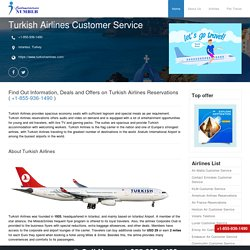 Turkish Airlines Reservations 1-855-936-1490 and Flight Booking Information's
