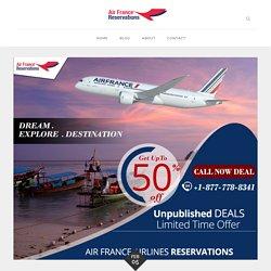 Air France Flight Online Reservations Instructions