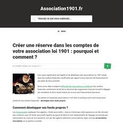 Créer une réserve dans les comptes de votre association loi 1901 : pourquoi et comment ?
