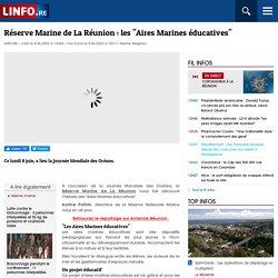 """Réserve Marine de La Réunion: les """"Aires Marines éducatives"""""""