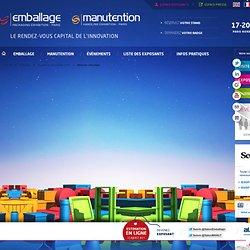 Réserver stand en ligne au salon Emballage Paris Nord Villepinte 2014