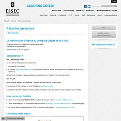 ESSEC Learning Center