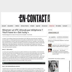Multimédia + commentaires (En contact - VTC Get lucky)