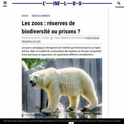 Les zoos : réserves de biodiversité ou prisons ?