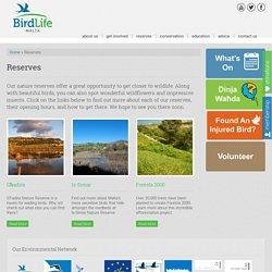 Reserves - Birdlife Malta : Birdlife Malta