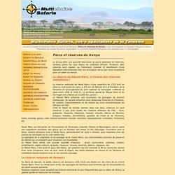 Parcs et réserves du Kenya - Multichoice Safaris