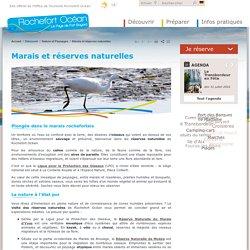 Marais et réserves naturelles - Marais d'Yves, Réserve de Moëze, Station de lagunage à Rochefort