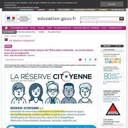 Faire appel à un réserviste citoyen de l'Éducation nationale : un accès direct pour les enseignants