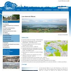 Lac réservoir Marne - EPTB Seine Grands Lacs