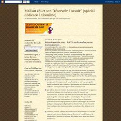 lettre de rentrée 2012 : le CDI ne deviendra pas un learning centre...