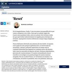 'Reset', por Manuel Castells