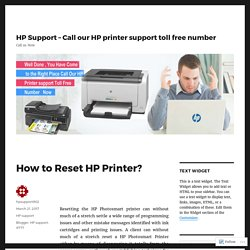 How to Reset HP Printer?