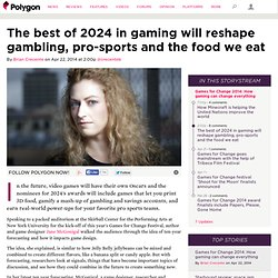 The best of 2024 in gaming will reshape gambling, pro-sports and the food we eat