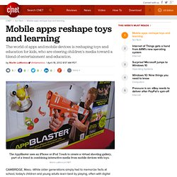 Mobile apps reshape toys and learning | Cutting Edge