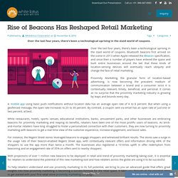 Rise of Beacons Has Reshaped Retail Marketing