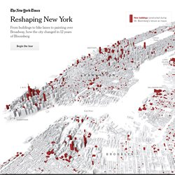 [Impressive Dataviz] Reshaping New York - Interactive Feature