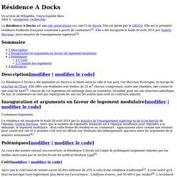 Résidence A Docks