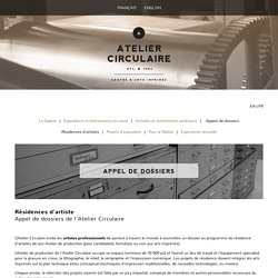 Appel-Residence — Atelier Circulaire