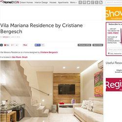 Vila Mariana Residence by Cristiane Bergesch