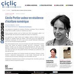Cécile Portier auteur en résidence d'écriture numérique