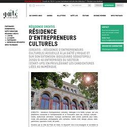 Résidence d'entrepreneurs culturels