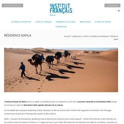 Résidence Kafila - Institut français du Maroc
