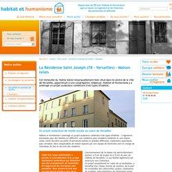 La Résidence Saint Joseph (78 – Versailles) - Maison relais