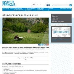 Résidences Hors les murs 2014