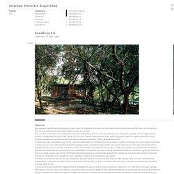 Residência P.A. - Andrade Morettin Arquitetos - Andrade Morettin Arquitetos