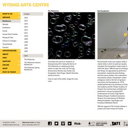 Residencies Archive – Wysing Arts Centre