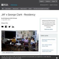 JAF x George Clark - Residency