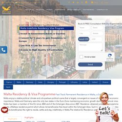 Malta Residency and Visa Programme Consultant Service in India