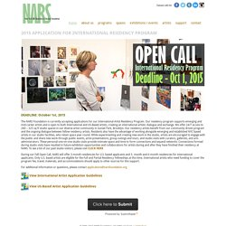 New York Art Residency & Studios Foundation