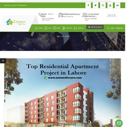 Top Residential Apartment Project in Lahore