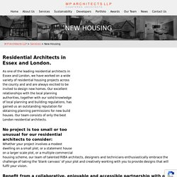 Best Residential Architects in London & Essex