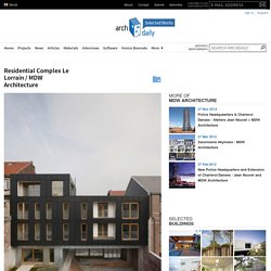 Residential Complex Le Lorrain / MDW Architecture