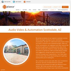 The Services Of Home Theater Installation Scottsdale
