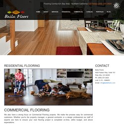 Residential flooring supplier in California