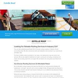 Residential, Commercial Roofing Repair Industry CA