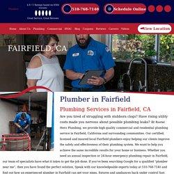 Residential & Commercial Plumbers in Fairfield, CA