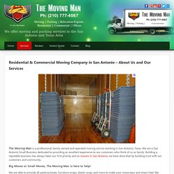 Get a Convenient Moving Experience with Affordable Movers in San Antonio
